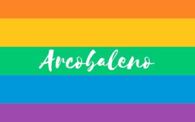"""Il """"gettonato"""" simbolo dell'arcobaleno"""